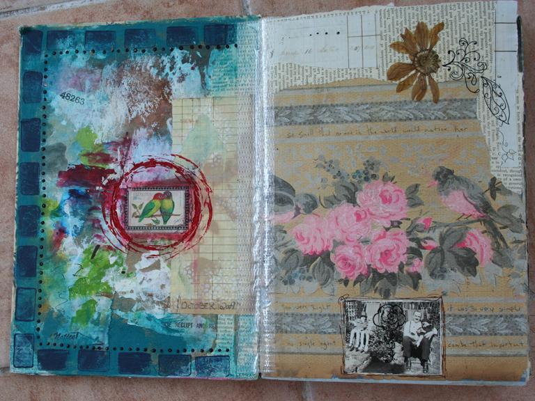 Wallpaper journal book a