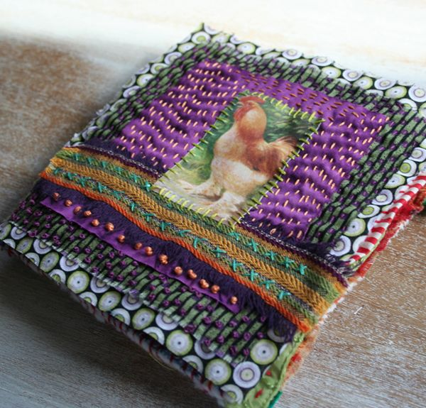 Cluck fabric book c