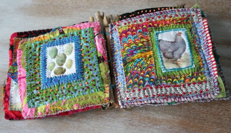 Chicken coop fabric book 2