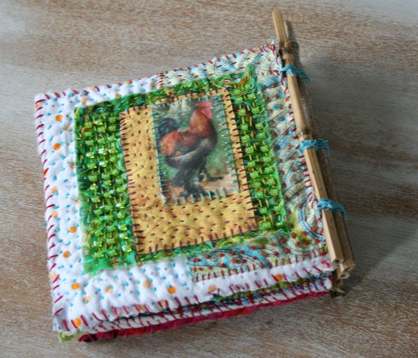 Chicken coop fabric book d