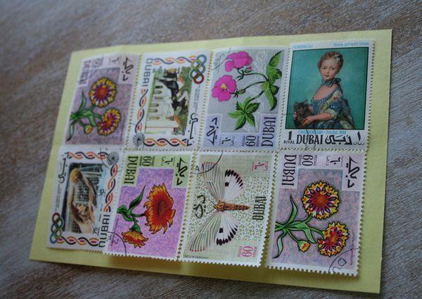 Dubai postage stamps