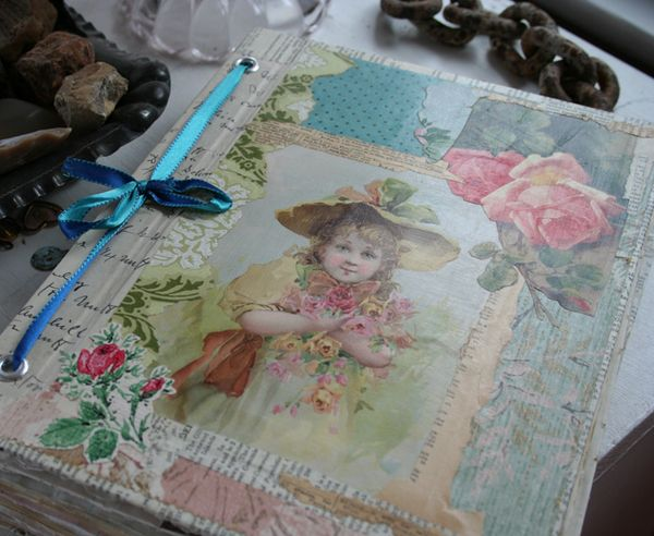 Rose garden journal notebook cover