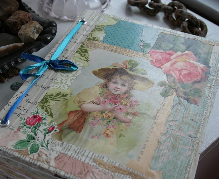 Rose garden journal notebook cover