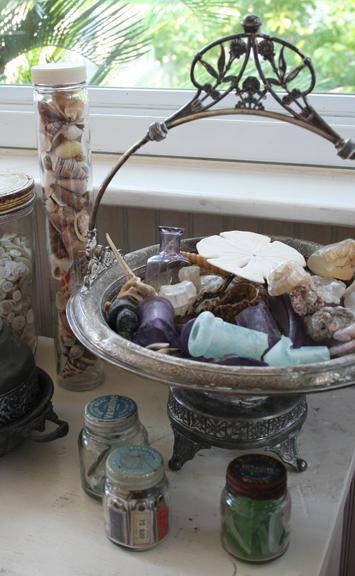 Fossil c beachglass