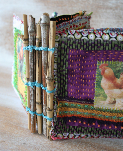 Chicken coop fabric book a