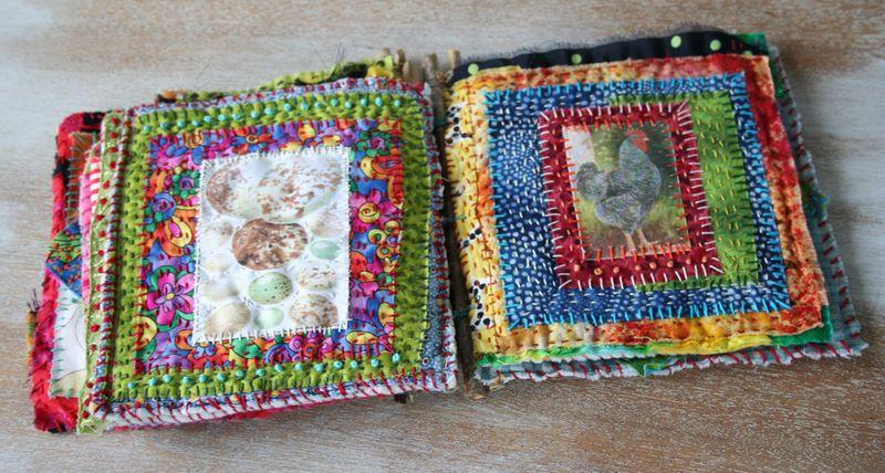 Chicken coop fabric book 3