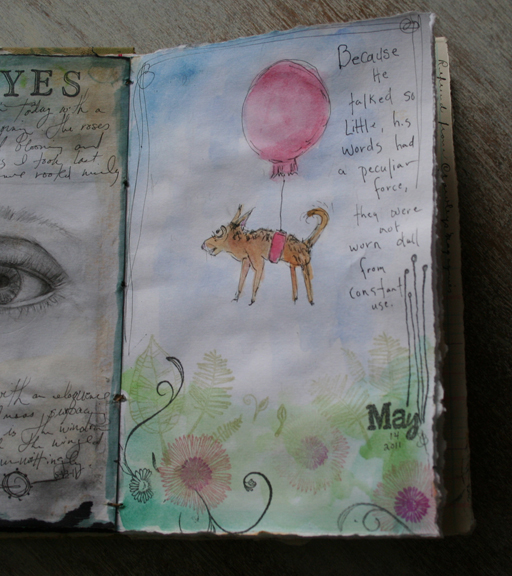 Journal sketchbook 516