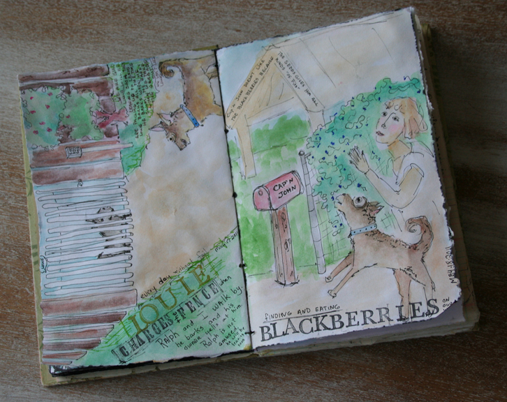 Sketchbook journal 524