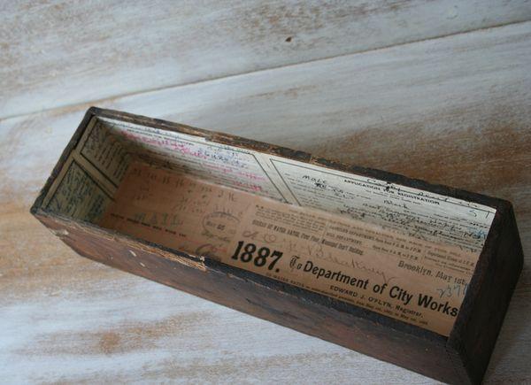 Wood boxl