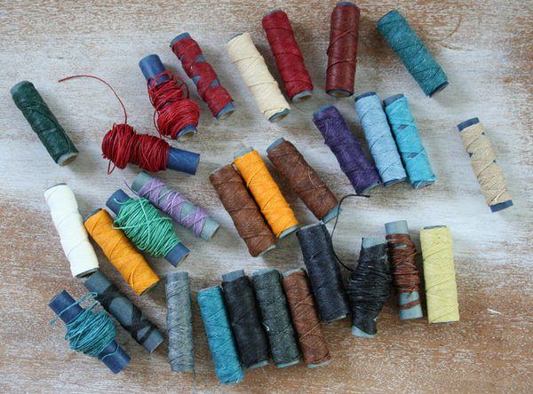 Linen thread lot
