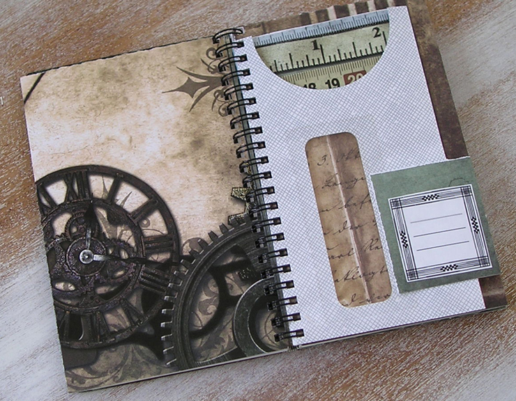 Steampunk 2012 daily planner book (2)