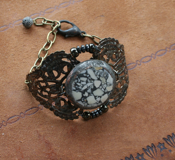 Envergure Terrazzo Cuff Bracelet