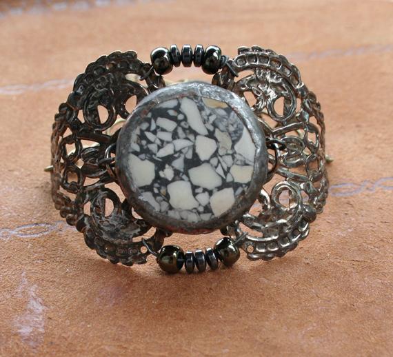 Envergure Terrazzo Cuff Bracelet a