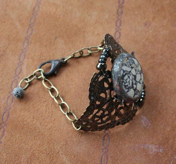 Envergure Terrazzo Cuff Bracelet b