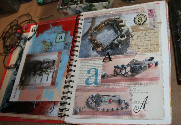 A study in a journal page spread