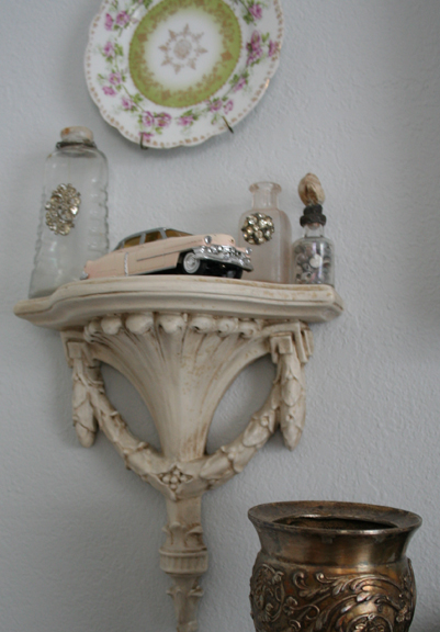Dining room shelf