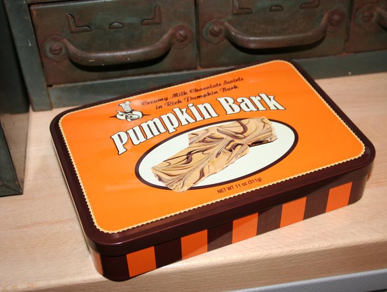 Pumpkin bark