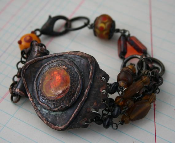 Solar flare tribal bracelet (4)