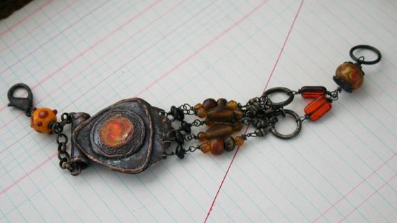 Solar flare tribal bracelet (3)