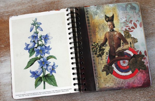 Spray paint journal page c