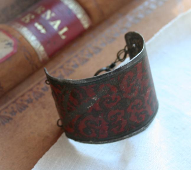 French quarter cuff bracelet b