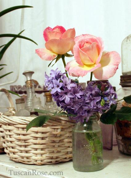 Roses hyacinth