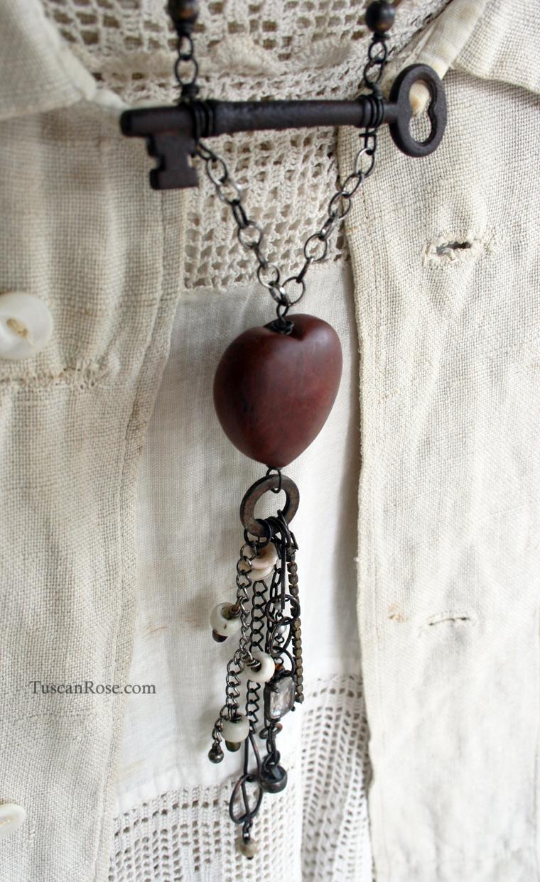 Key to my heart talisman necklace (5)