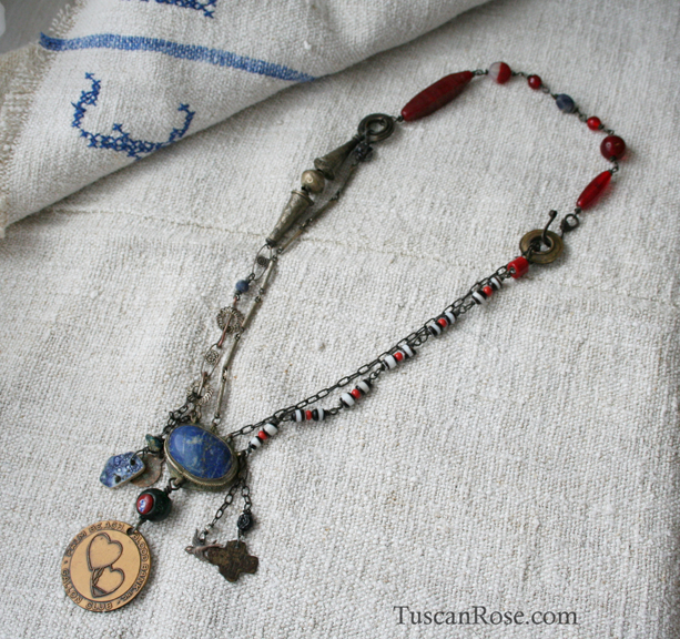 Vampire blood bank necklace b