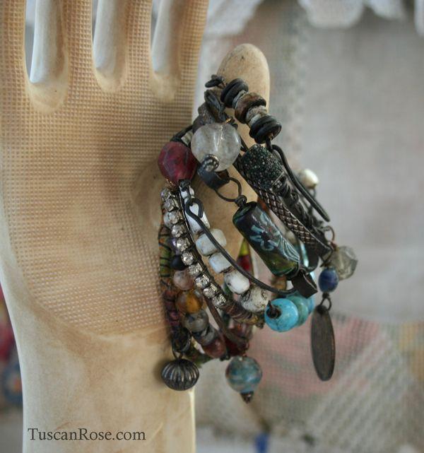 012  urban gypsy bangle stack bracelets e