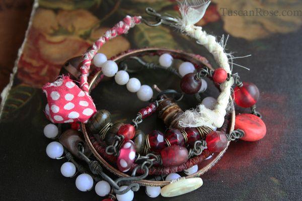 Lolita bangle bracelet vampire jewelry d