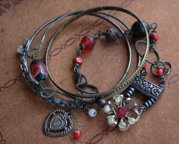 Lorilei bangle bracelet vampire jewelry C