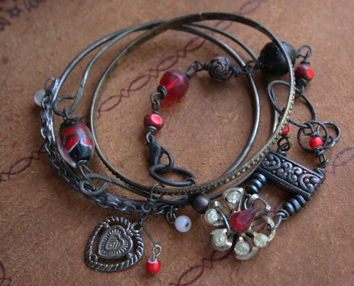 Lorilei bangle bracelet vampire jewelry C