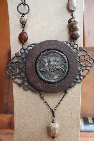 Urban Bird Salvage talisman necklace (6)