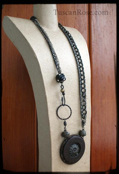 Concentric urban gypsy necklace (5)