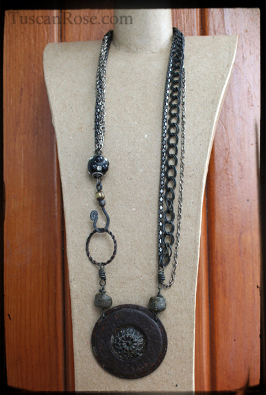 Concentric urban gypsy necklace (3)