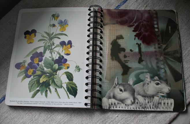Spray paint journal a