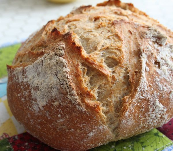 Whole wheat rye boule 003