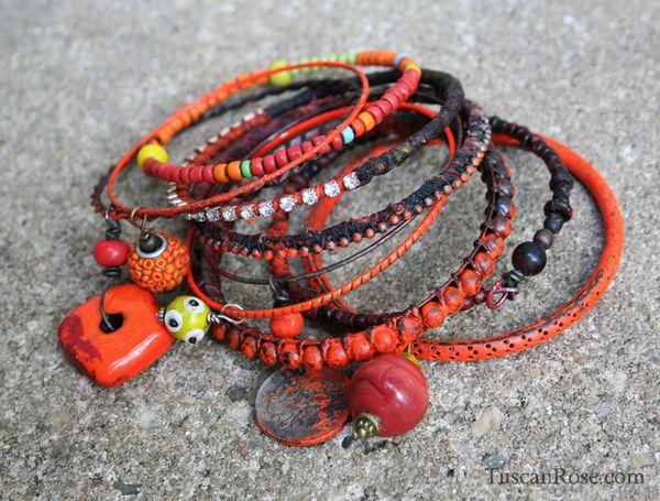 Stangle stack set 22dg urban gypsy bracelet a