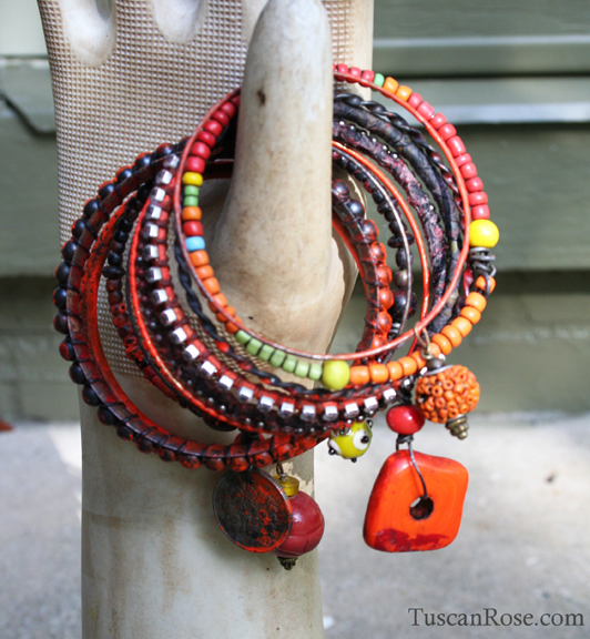 Stangle stack set 22dg urban gypsy bracelet d