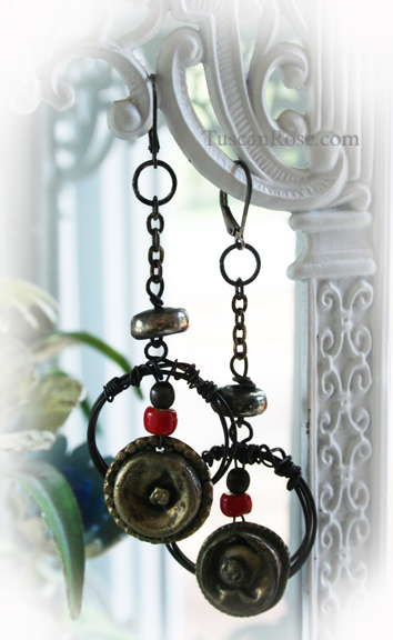 Dark angel dangle earrings (4)