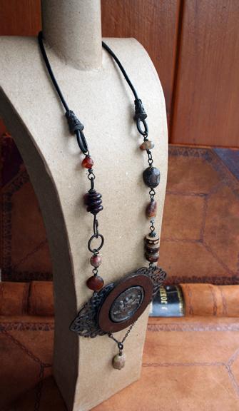 Urban Bird Salvage talisman necklace (4)