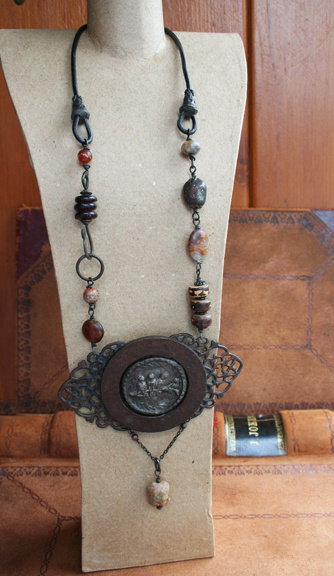 Urban Bird Salvage talisman necklace (7)