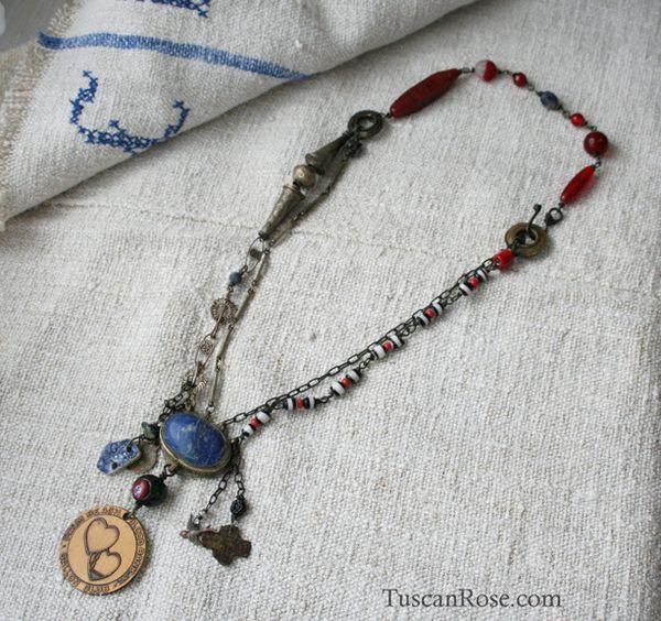 Vampire blood bank necklace b