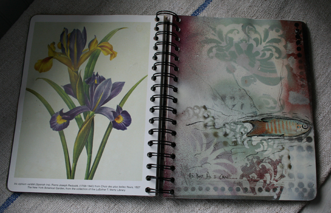 Spray paint journal b