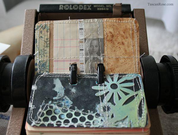 Rolodex card 7512