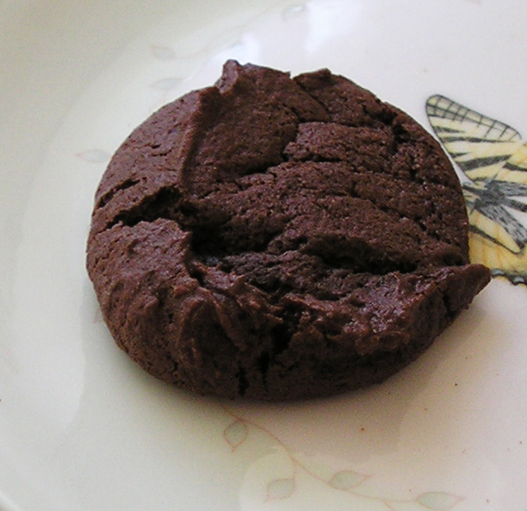 Chocolate cayenne cookie