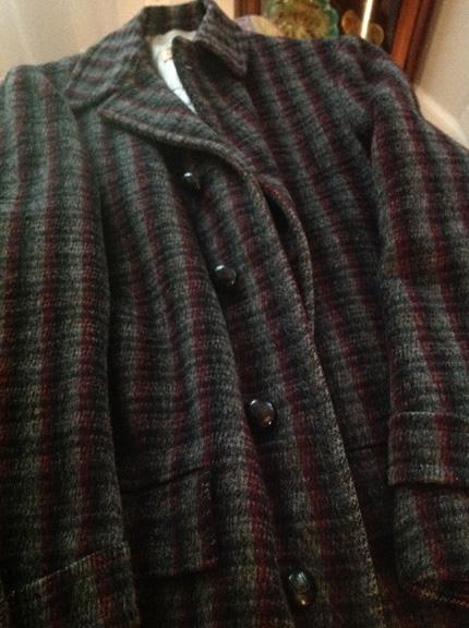Vintage wool hunting jacket