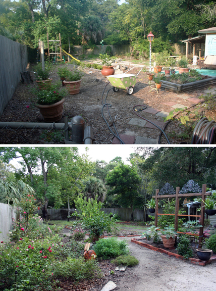 2012 yard then and now