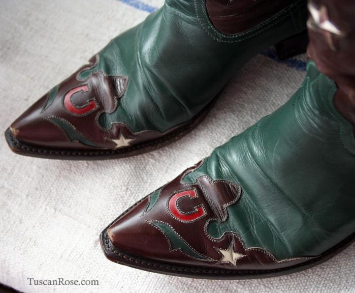 Stallion boot toe detail