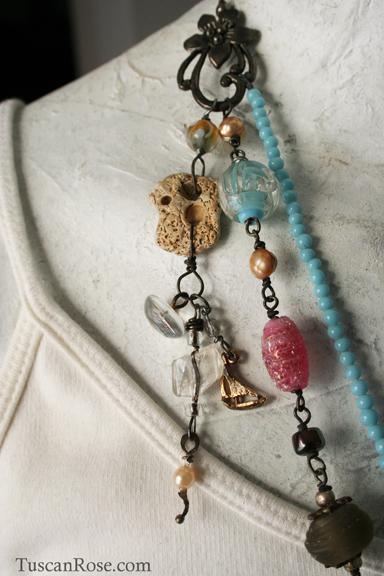 Mermaid talisman necklace a